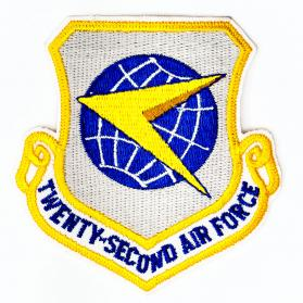 Patch_americane_Twenty_Second_Air_Force