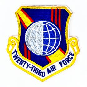 Patch_Twenty-Third_Air_Force