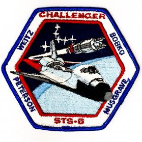 Patch_americane_Challenger_STS_6