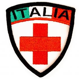 Patch_Croce_rossa_con_tricolore