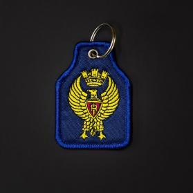portachiavi-polizia-ricamato
